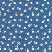 Vintage Happy 2 - Daisy Denim Yardage