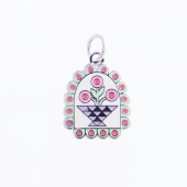 Penny Rug Charm by Pin Peddlers