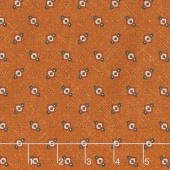Cheddar & Chocolate - Hexie Diamond Cheddar Yardage
