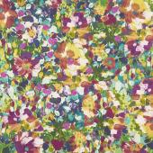 Painterly Petals - Cluster Flowers Harvest Digitally Printed Yardage
