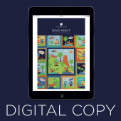 Digital Download - Dino Might Pattern by Missouri Star