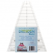 Me & My Sister Double Wide Dresden Ruler - 36 Degree