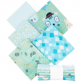 Little Friends Green Fat Quarter Bundle
