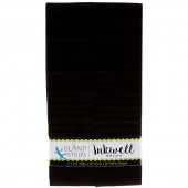 Inkwell Batiks Solid Black Strips