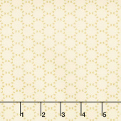 Bonnie Lane - Park Paths Butter Pearlized Yardage