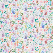 Topia - Packed Flowers Day Digitally Printed Yardage
