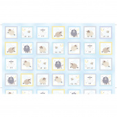 Sweet Dreams - Sweet Dreams Boxes Baby Blue Panel