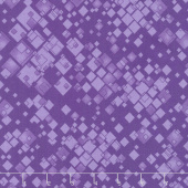 Cat-i-tude 2 - Squarely There Purple Yardage