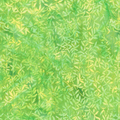 Punch Batiks - Vine Lemon Lime Yardage