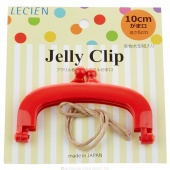 "JELLY CLIP 4"" RED"
