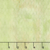 Garden of Dreams - Ogee Leaf Green Digitally Printed Yardage