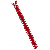 "Missouri Star Fancy Zips - 14"" Hearts Red"
