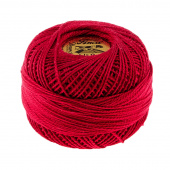 Prescencia Perle Cotton Thread Size 8 Cranberry