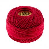 Prescencia Perle Cotton Thread Size 8 Cranberry