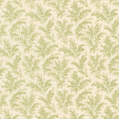 Mill Creek Garden - Ferns Ivory Green Yardage