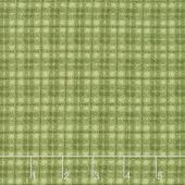 Woolies Flannel - Plaid Green Yardage