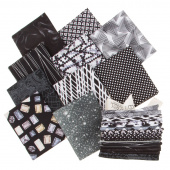 Color Spectrum Favorites Black White Fat Quarter Bundle