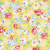 Sugar Sack II - Sweet Bouquet Daffodil Yardage