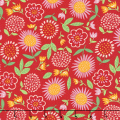 Best Friends Forever - Fresh Cut Flowers Red Yardage