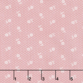 Majestic - Dot Pink Yardage