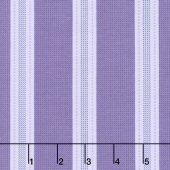 Twilight Garden - Awning Stripe Eggplant Yardage