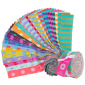 Tula Pink's All Stars Pom Poms & Stripes Design Roll