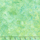 Artisan Batiks - Color Source 8 - Packed Leaves Sprout Yardage