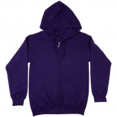 Missouri Star Purple Bling Full Zip Hoodie - 2XL
