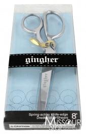 """Gingher Spring Action 8"""" Dressmaker's Shears (Scissors)"""