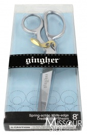 "Gingher Spring Action 8"" Dressmaker's Shears (Scissors)"