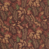 Country Charm - Autumn Charm Rustic Red Yardage