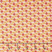 My ABC Book - Geometric Red Yardage