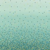 Ombre Confetti Metallic - Lagoon Yardage