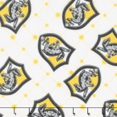 Wizarding World - Harry Potter Hufflepuff House Pride Yardage