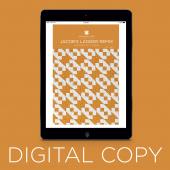 Digital Download - Jacob's Ladder Remix Quilt Pattern by Missouri Star