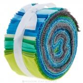"""Cotton Couture Lagoon 2.5"""" Strips"""