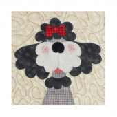 Poodle Precut Fused Appliqué Pack
