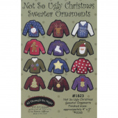 Not So Ugly Christmas Sweater Ornaments Pattern