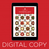 Digital Download - Quatrefoil Quilt Pattern by Missouri Star