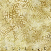 Bella Vita Batiks - Mosaic Maize Yardage