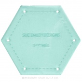 "Sue Daley Hexagon 1 1/4"" Template Only"