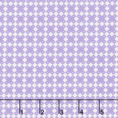 Aunt Grace Baskets of Scraps - Checks Purple Yardage