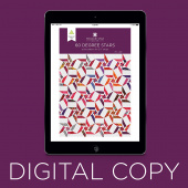 Digital Download - 60 Degree Stars Quilt Pattern by Missouri Star