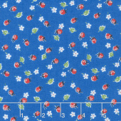 Sugar Sack - Berries Blue Yardage