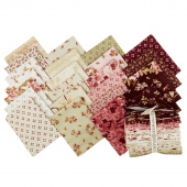 Burgundy & Blush Fat Quarter Bundle