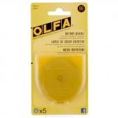 Olfa 60mm Replacement Rotary Blades (5 ct)