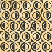 Gatsby Batiks - Half Circle Wheat Yardage