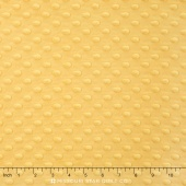 "Cuddle Embossed Dimple - Sunshine 60"" Minky Yardage"