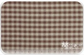 Homespun - Brown Small Check Yardage for Dunroven House