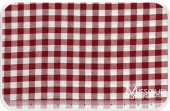Homespun - Red/Cream Small Check Yardage
